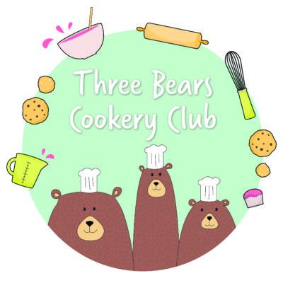 three bears cookery club Logo
